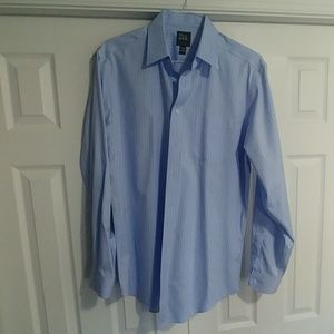 Jos A Bank Traveller Dress Shirt 16.5-36